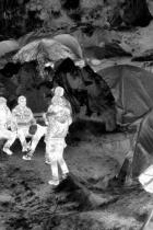 Detail of 'Idomeni' (2016), from the series Heat Maps by Richard Mosse Detail of 'Idomeni' (2016), from the Heat Maps by Richard Mosse © Richard Mosse/Prix Pictet 2017